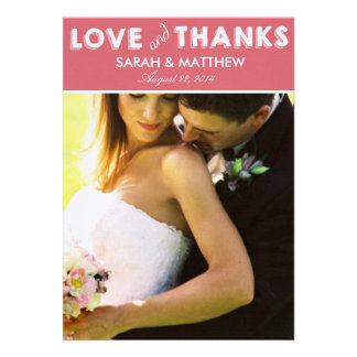 Love Thanks Cards Wedding Thank Yous