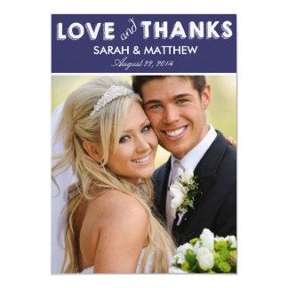 Love & Thanks Cards | Wedding Thank Yous Custom Invite