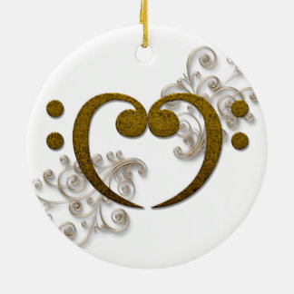 Love that Bass - its all about the Bass Christmas Ornament