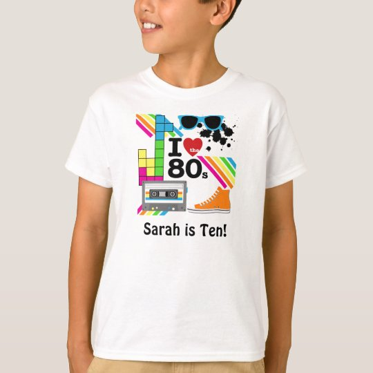 Love the 80s Customised T-shirt