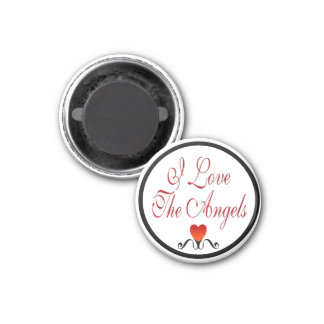 Love The Angels 3 Cm Round Magnet