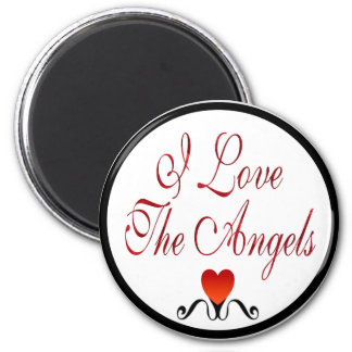 Love The Angels 6 Cm Round Magnet