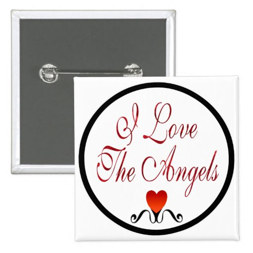 Love The Angels Pins