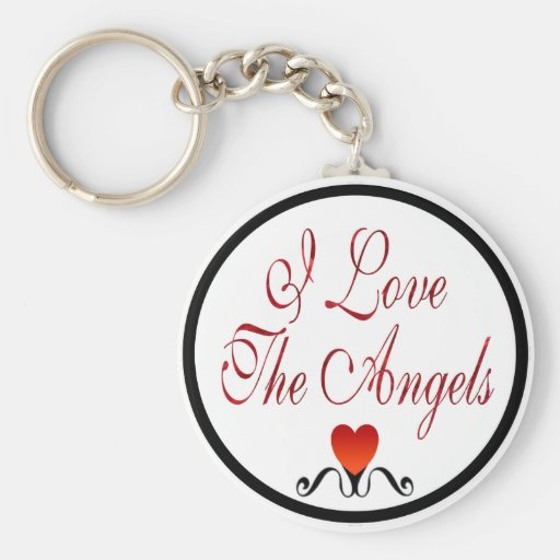 Love The Angels Key Chains