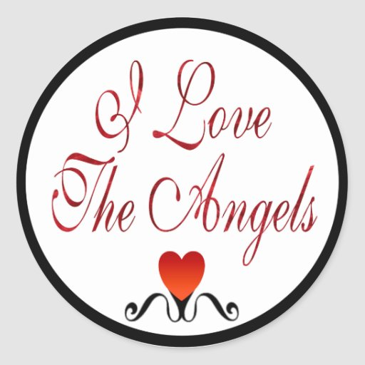 Love The Angels Stickers