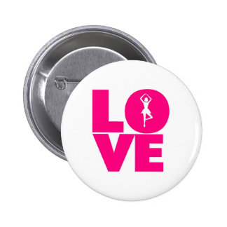 Love the ballet 6 cm round badge