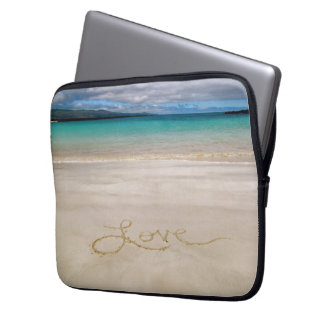 Love the Beach, Sand, & Sun Laptop Case