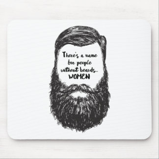 Love the Beard Mouse Mat
