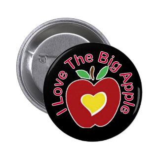 Love The Big Apple 6 Cm Round Badge