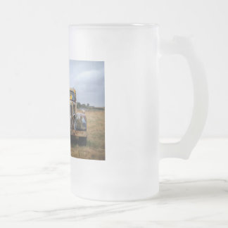 Love the Car Frosted Glass Mug