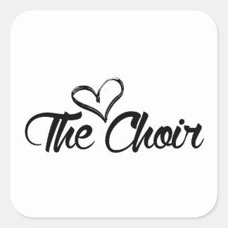 Love the Choir Square Sticker