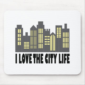 Love The City Mouse Pad