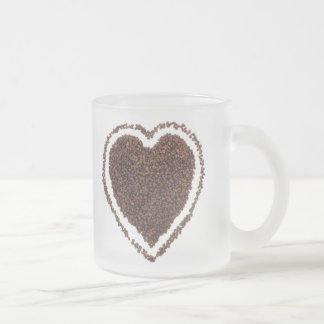 Love the COFFEE Frosted Glass Mug