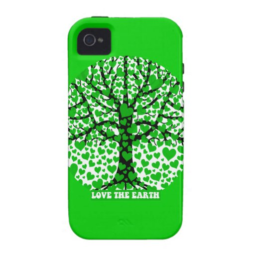 love the earth Case-Mate iPhone 4 cover
