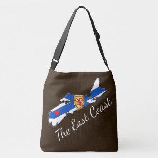 Love The East Coast Heart N.S.  bag brown