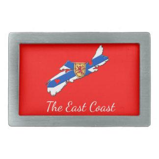 Love The East Coast Heart N.S. belt buckle red
