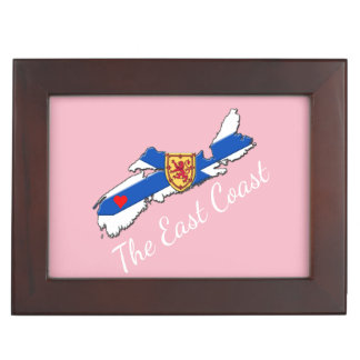 Love The East Coast Heart N.S. memory picture Memory Box