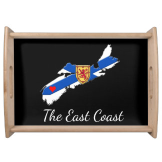 Love The East Coast Heart N.S. serving tray