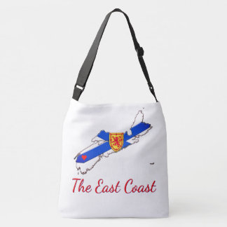 Love The East Coast  Nova Scotia Cross Bag