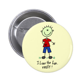 Love the Fair Tshirts and Gifts Pinback Button