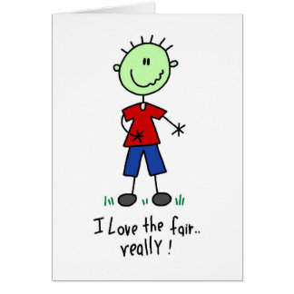 Love the Fair Tshirts and Gifts Greeting Card