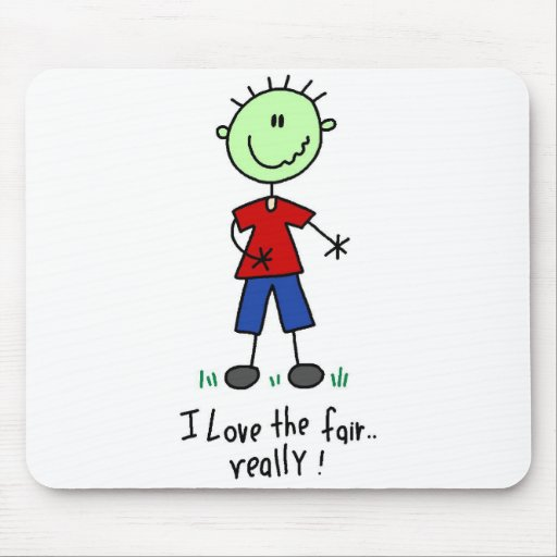 Love the Fair Tshirts and Gifts Mouse Pad