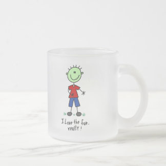 Love the Fair Tshirts and Gifts 10 Oz Frosted Glass Coffee Mug