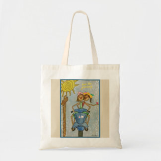 Love the journey tote bag