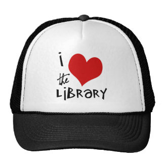 Love the Library Mesh Hats