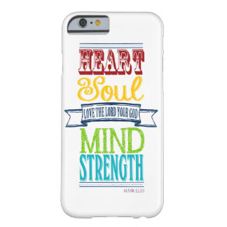 Love the Lord Your God Mark 12:30 Phone Case