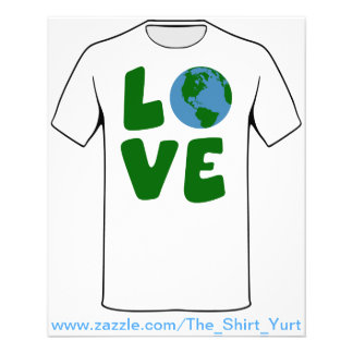 Love the Mother Earth Planet 11.5 Cm X 14 Cm Flyer