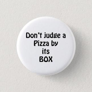 love the pizza 3 cm round badge