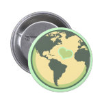 Love the Planet Earth Day Buttons