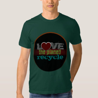Love the Planet Recycle American Apparel T-Shirt