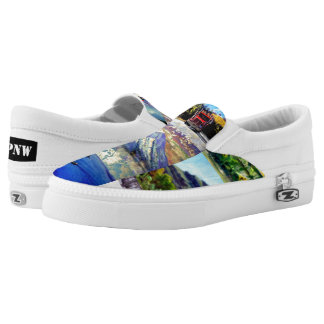 Love the PNW Zipz Slip On Sneakers, Men/Women Printed Shoes