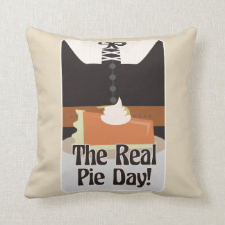 Love The Real Pie Day Cushion