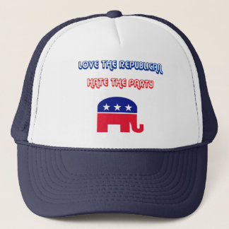 Love The Republican, Hate The Party Trucker Hat