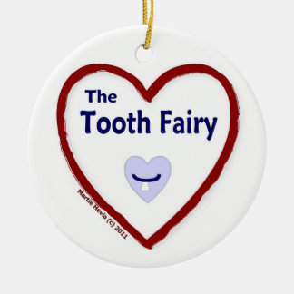 Love The Tooth Fairy Christmas Tree Ornaments