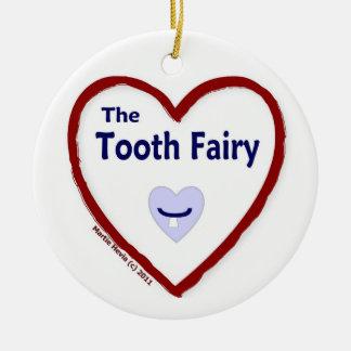 Love The Tooth Fairy Round Ceramic Decoration