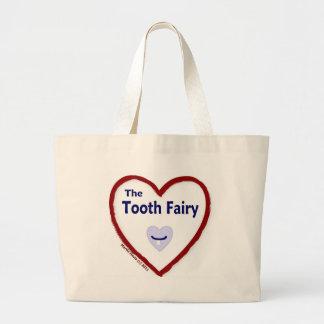 Love The Tooth Fairy Jumbo Tote Bag