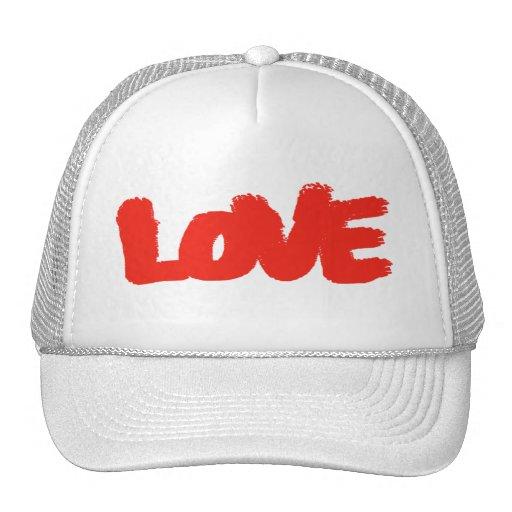 LOVE THE TOP TRUCKER HAT