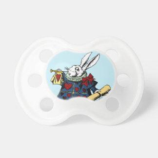 Love the White Rabbit Alice in Wonderland Pacifier