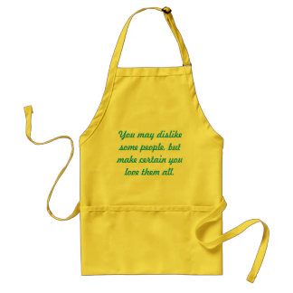 Love them all standard apron