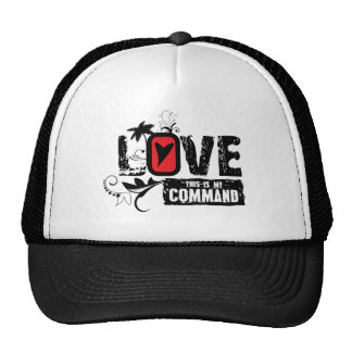 LOVE- This is My Command Cap