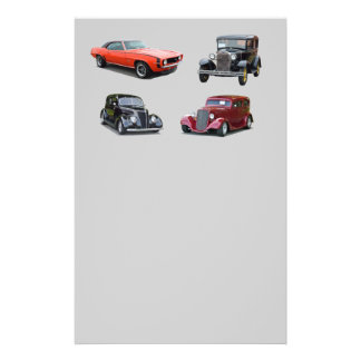 Love Those Old Classic Cars Full Color Flyer
