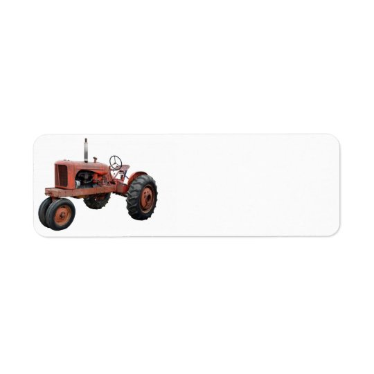 Love Those Old Rusty Tractors Return Address Label
