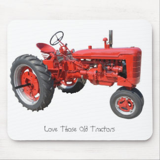 Love Those Old Tractors Mouse Mat