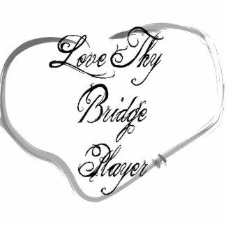 Love Thy Bridge Player Photo Cut Outs