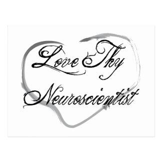 Love Thy Neuroscientist Postcard
