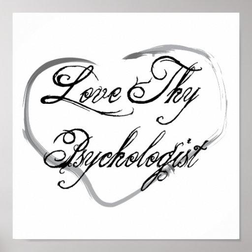 Love Thy Psychologist Poster